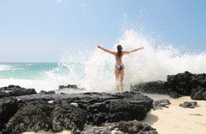 Confiance En Soi femme mer